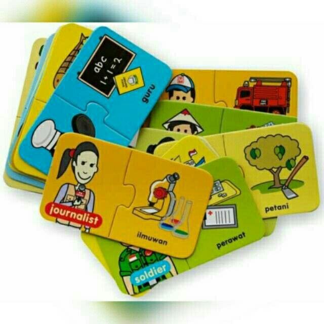 Temukan dan dapatkan FLASH CARD PUZZLE BILINGUAL Jobs hanya Rp 32.000 di Shopee sekarang juga! #ShopeeID