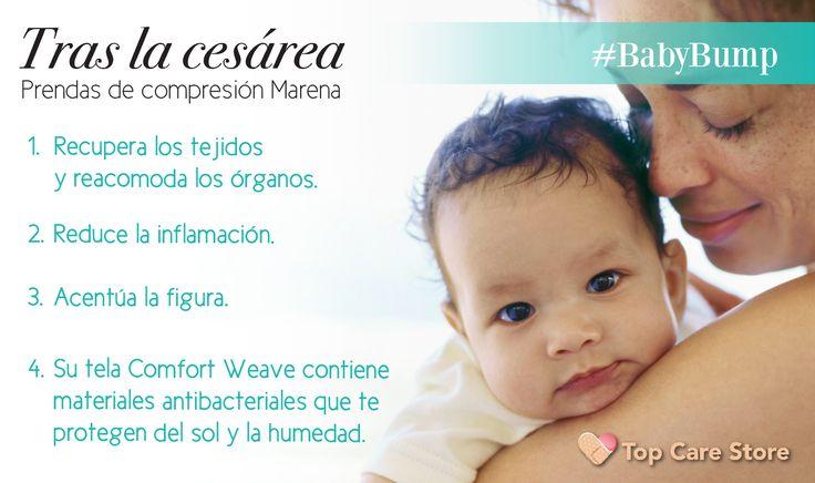 Utiliza #fajas de compresión #Marena después de tu cesárea #CuidaDeTi #Bebé #Mom #FitMom