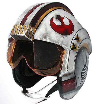 Pretty sure I could get someone to paint a motorcycle helmet to look like this!  Google Image Result for http://www.starwarshelmets.com/X_WING_HELMET_small.jpg  I WANT TO MAKE ONE!