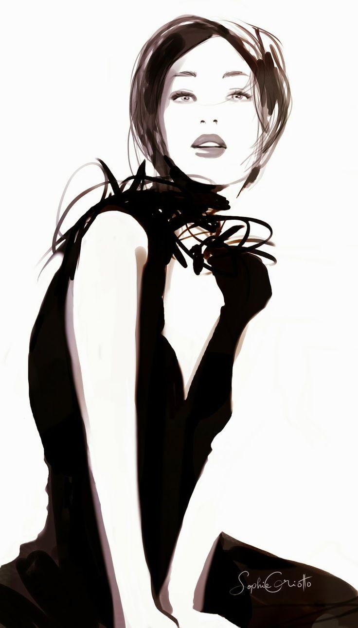 Sophie Griotto. Яркие, легкие и воздушные иллюстрации. Обсуждение на LiveInternet - Российский Сервис Онлайн-Дневников