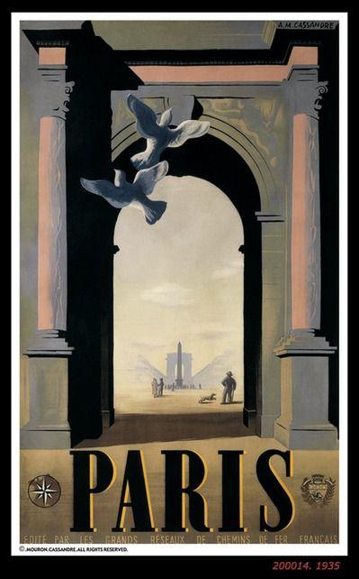 Paris by Cassandre