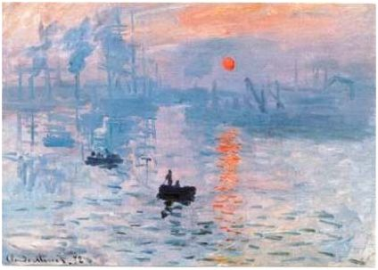 Artist: Claude Monet Period: Impressionism Location: Musée Marmottan Monet Subject: Le Havre Created: 1872–1872 I like how this painting does't really have a focus or a story. Although you are drawn to the man in the boat, which is interesting.