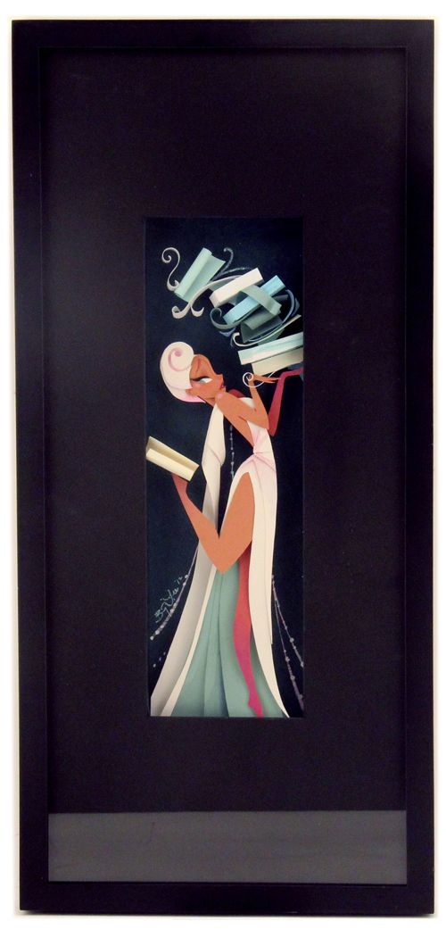 Brittney Lee - Artwork - The Muse of Literature - Nucleus | Art Gallery and Store