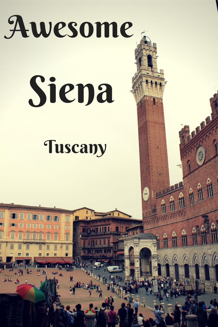 The beautiful town of Siena on the Tuscan hills - Italy