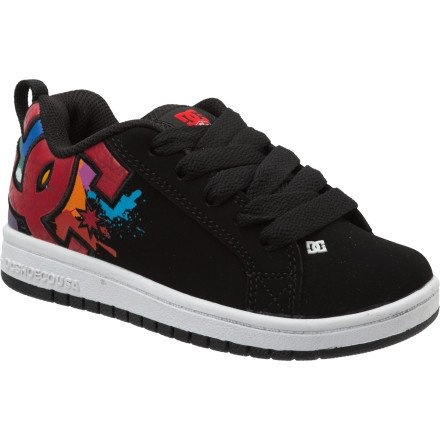 DC Kids Court Graffik Wild Grinders Skate Shoe « Shoe Adds for your Closet