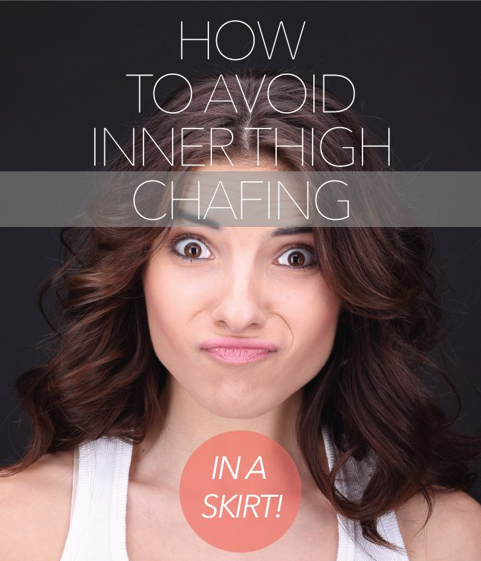 How to Avoid Inner Thigh Chafing In A Skirt! | themodestmomblog.com