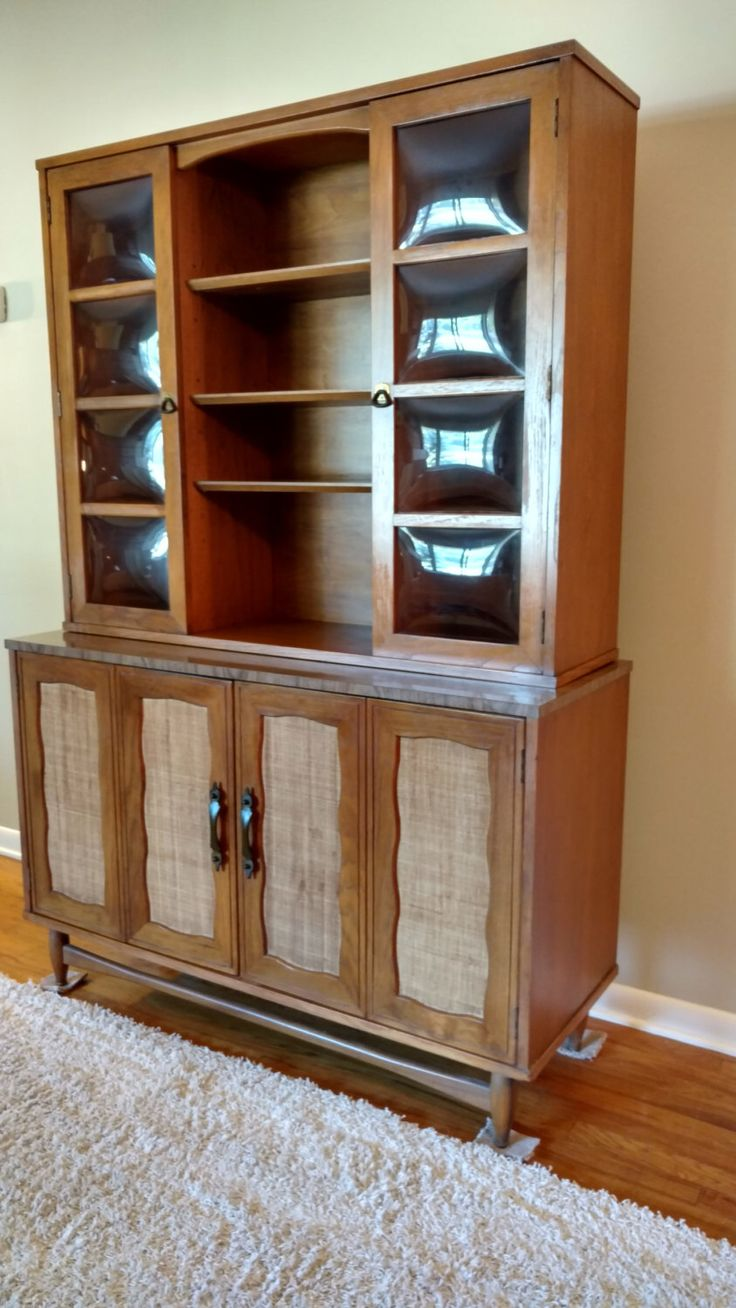 Vintage Garrison Furniture Company Hutch / China Cabinet By  ProRefineFurnishings On Etsy Https://www.etsy.com/listing/464886522/vintage  Garrison Fuu2026