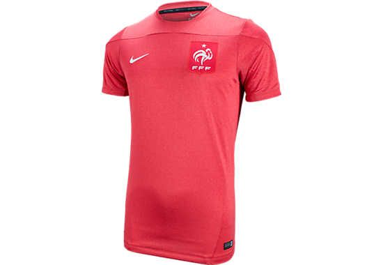 Nike France Training Top - Red and Heather...Available at SoccerPro now!