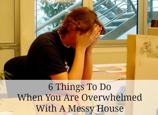 Feeling desperate or overwhelmed with a messy house? Here's where to start.