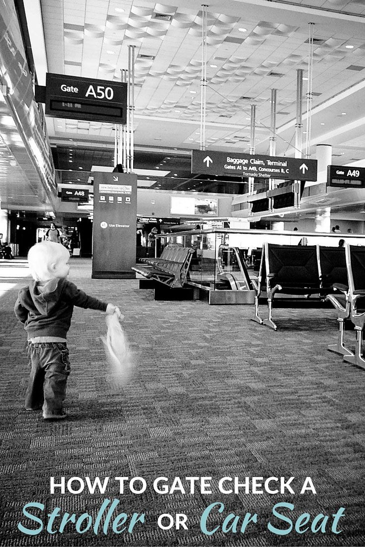 traveling with baby how to gate check a car seat or stroller gate car seats and check. Black Bedroom Furniture Sets. Home Design Ideas