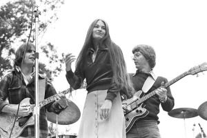 Bob Weir, Donna Jean Godchaux and Phil Lesh, Grateful Dead.
