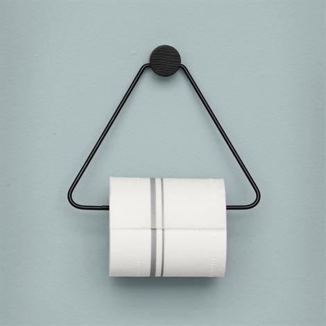 Ferm  toalettpappershållare svart - svart - Ferm Living