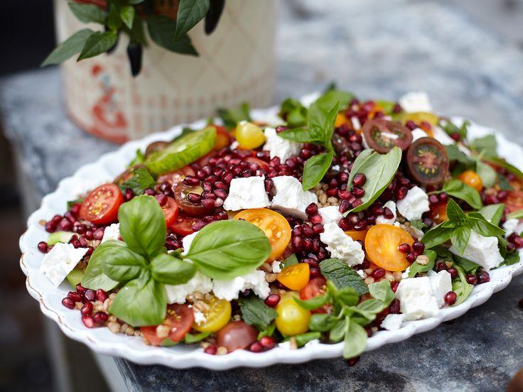 Matvetesallad med fetaost | Recept från Köket.se