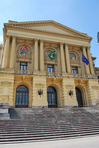 Museu Paulista da Universidade de São Paulo, também conhecido como Museu do Ipiranga. Inaugurado em #1895. São Paulo, #SP, #Brasil.