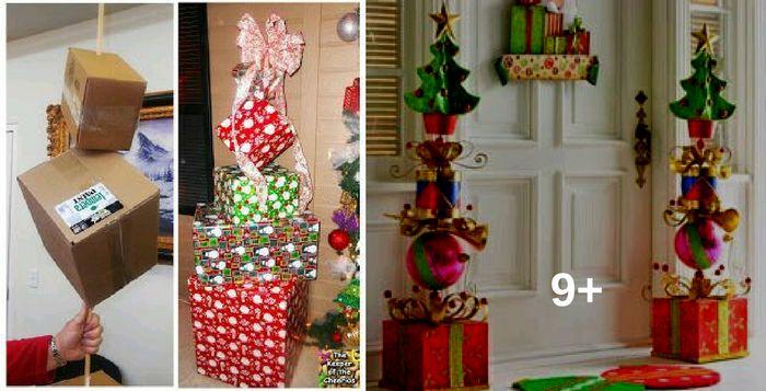 Mira Como Decorar Tu Casa Las Próximas Navidades, Utilizando Estos Tips Con Cajas Navideñas
