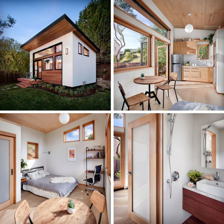 The Britespace tiny house, a 264 sq ft prefab home