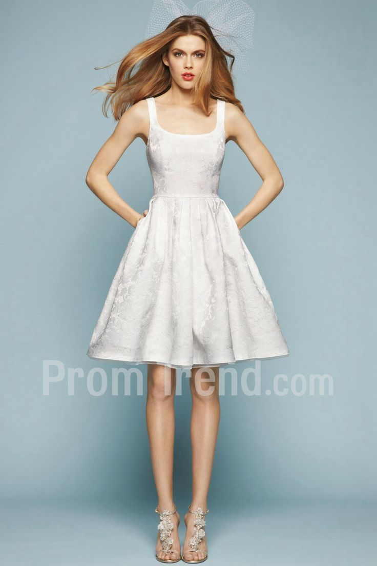 40 best Short/ Mini Wedding Dresses images on Pinterest | Wedding ...