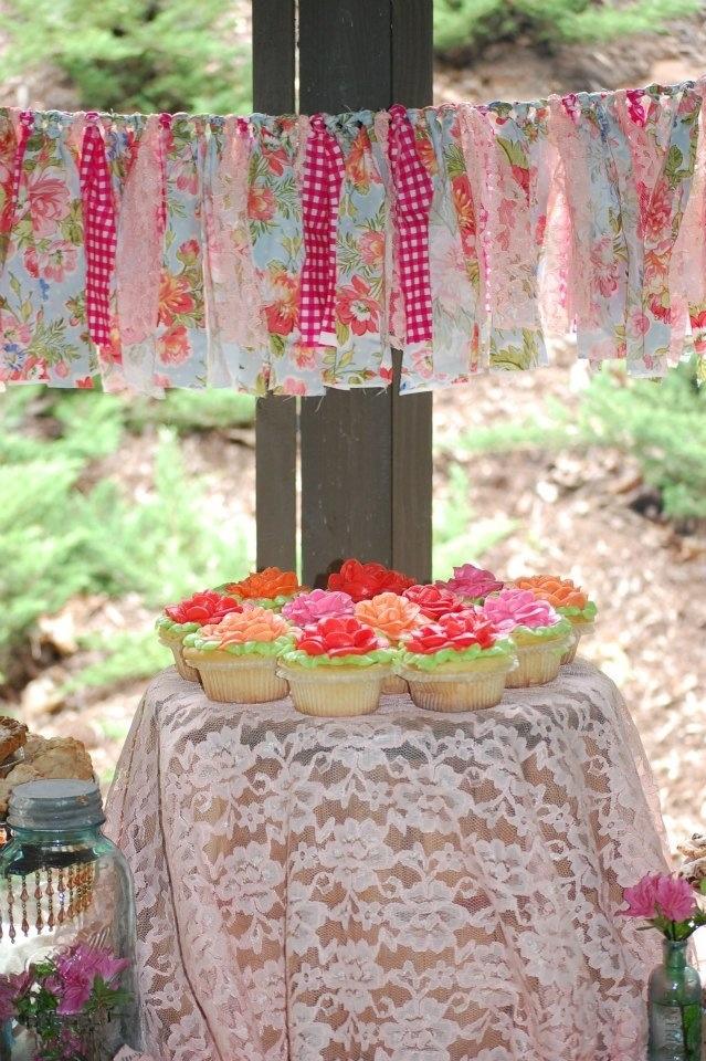 Country Shabby Chic Birthday Party -Splendid Wedding Co.