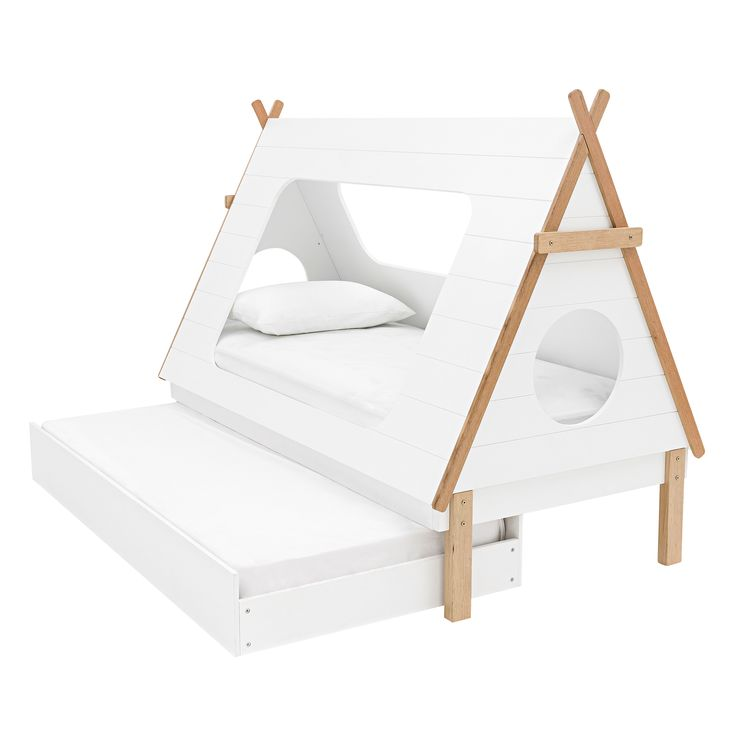 Tee Pee Kids Trundle Bed | Domayne