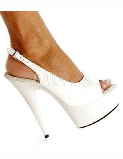 #Milanoo.com Ltd          #Sexy Sandals             #Elegant #White #Platform #9/10'' #High #Heel #Patent #Leather #Womens #Sexy #Heels                     Elegant White 2'' Platform 5 9/10'' High Heel Patent Leather Womens Sexy Heels                                                    http://www.seapai.com/product.aspx?PID=5682424
