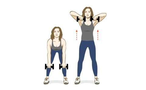 The Only Dumbbell Exercises You'll Ever Need | Eight moves to improve strength, endurance, and tone.