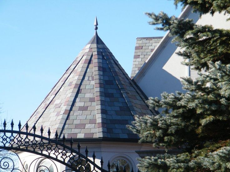 A custom blend of several North Country Slate colors can be supplied to create a truly unique roof.