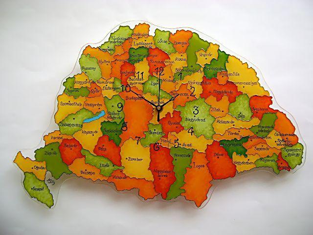 Meska -cecameca : Nagy-Magyarország óra.