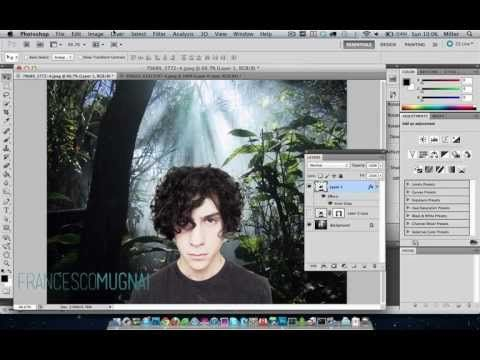 Coool, cutting out hair in photoshop... in 70 seconds!!!Design Tutorials, Graphics Design