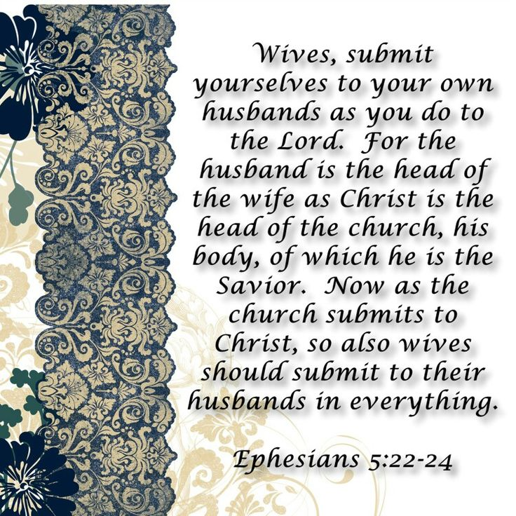 What Is A Submissive Little woman According To The Bible