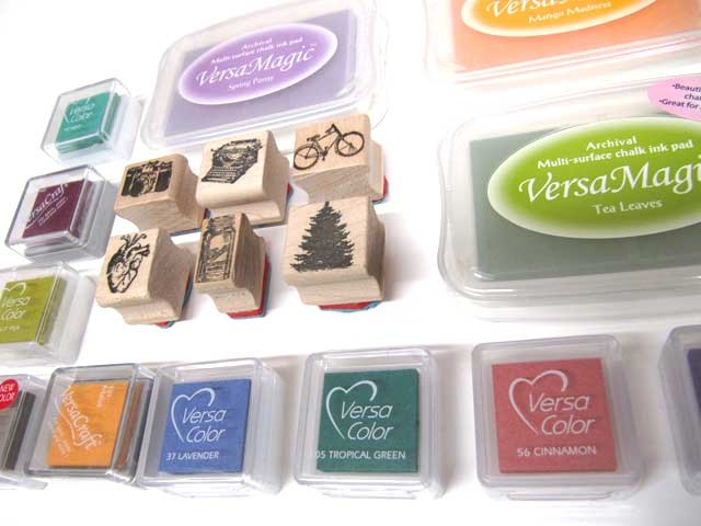 Did you know that Kid Icarus makes custom rubber stamps? We have a few fun designs of our own you can take home with you, or bring us your artwork and we'll make a custom stamp for you!