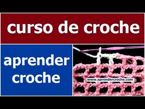 CURSO DE CROCHE PARA INICIANTES AULA 020/081 PONTO REDE