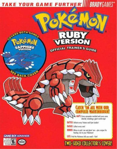 Pokemon Ruby & Sapphire Official Trainer's Guide Price:$3.98
