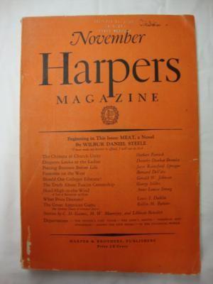 Harper's Magazine - November 1927