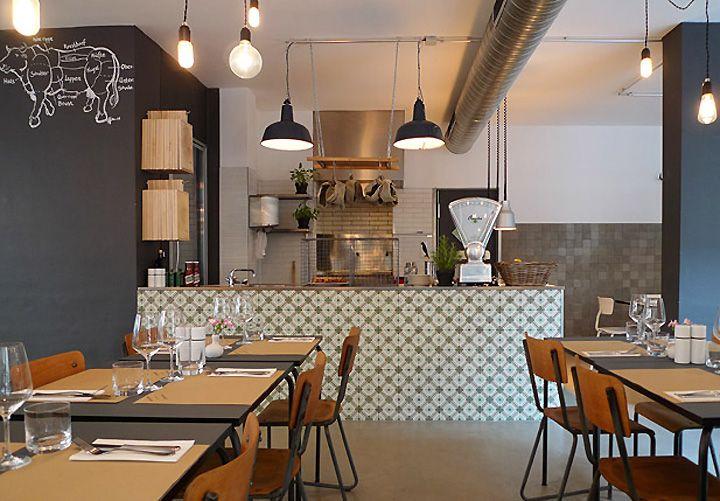 Theresa restaurant by stephanie thatenhorst kristina for Interior design munich