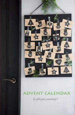 ドキドキわくわく♪家族で作るアドベントカレンダーのアイデア♡ - NAVER まとめ