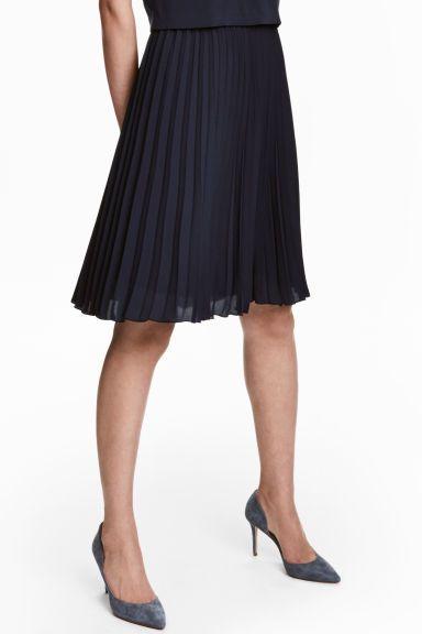 Suede court shoes - Dark grey-blue - Ladies | H&M GB