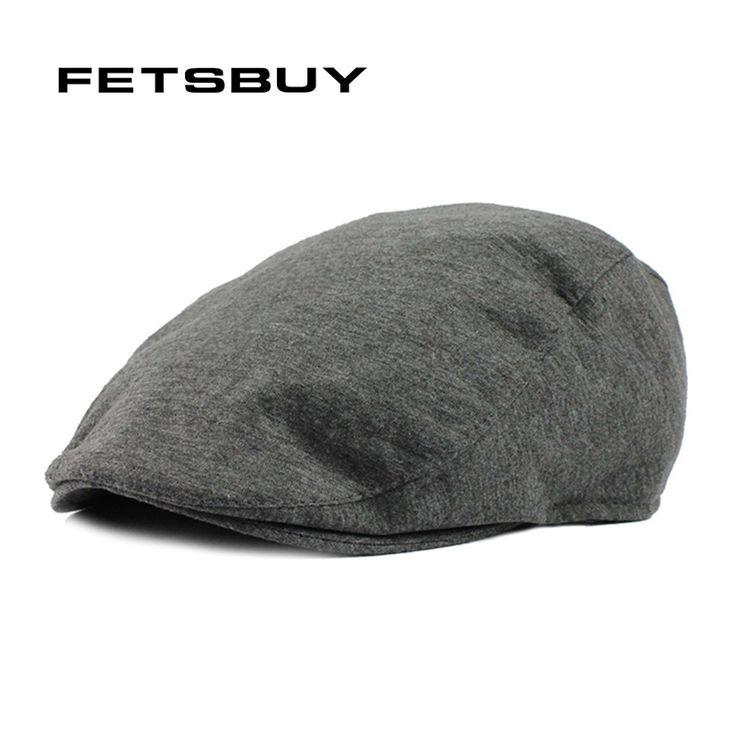 FETSBUY Fashion Beret Hat Autumn And Winter Hats For Men'S Popular Design Handsome Boinas Casual Hat Men Women Gorras Planas Cap