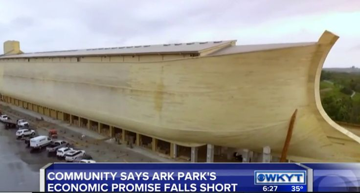 Creationist Ken Ham blames atheists and 'fake news' for failing Ark Encounter theme park