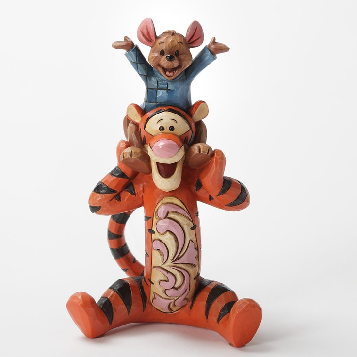 Bestest Pals-Tigger And Roo Personality Pose Figurine