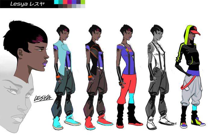 Character Design Kickstarter : Urbance by steambot — kickstarter character design