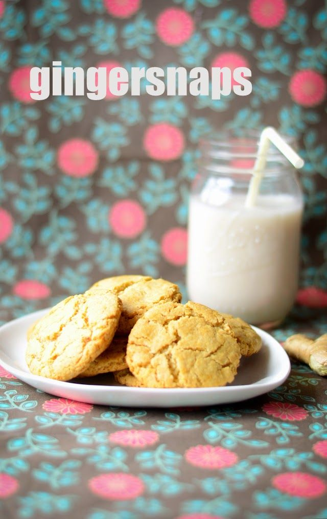 Knitty baker: Alpha Bakers: Gingersnaps