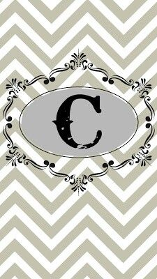 Initial 'C' Wallpaper | Initial c | Pinterest | Initials and