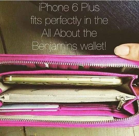 Perfect iphone 6 plus wallet. all about the Benjamins jewell by thirty one wallet.