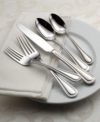 Oneida Countess 50-Pc Flatware Set, Service for 8 - Flatware & Silverware - Dining & Entertaining - Macy's