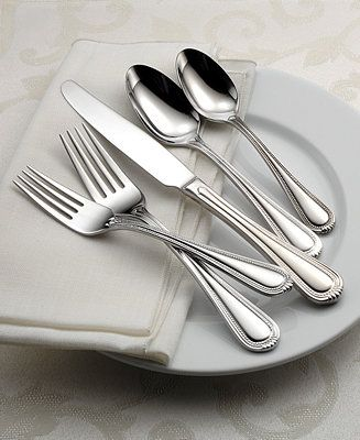 Oneida Countess 50-Pc Flatware Set, Service for 8 - Flatware & Silverware - Dining & Entertaining - Macy's