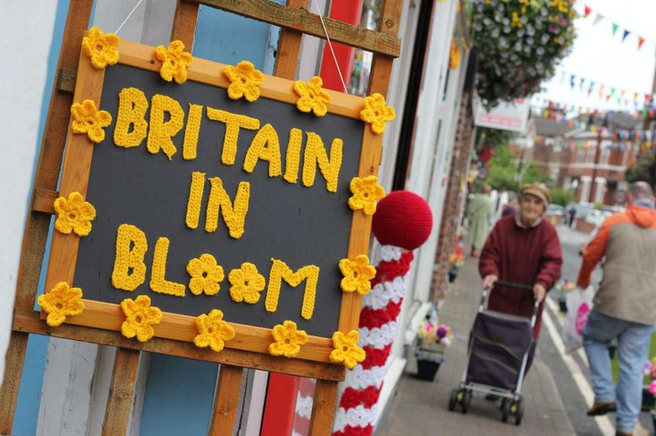July16, 2014 - Southport explodes into colour to celebrate 50 years of Britain in Bloom . The retailers and local community really came together to give their collective support