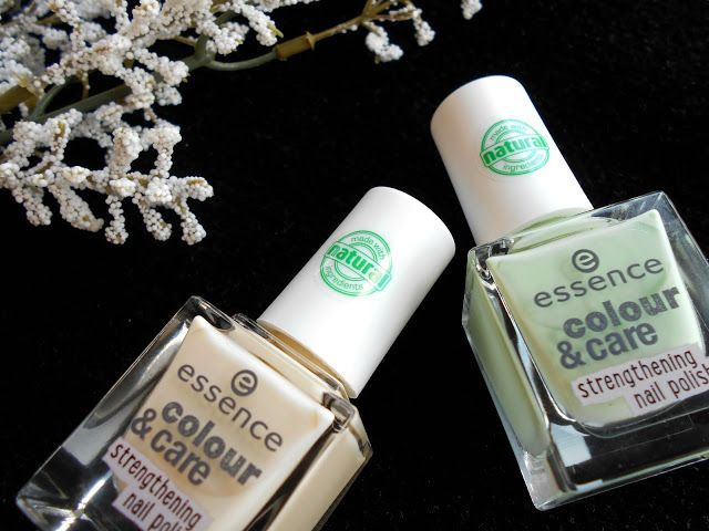 Detailing review post about these ''colour & care'' nail polishes by Essence, is now on my blog www.thegirlybible.blogspot.gr