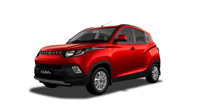 Mahindra KUV 100 Flamboyant Red - Automotive Manufacturers Pvt Ltd