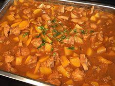 Lekker eten met Marlon: Pilaf met kip, perzik, ketjap en rijst