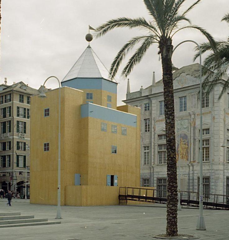 Teatro del Mondo. Aldo Rossi
